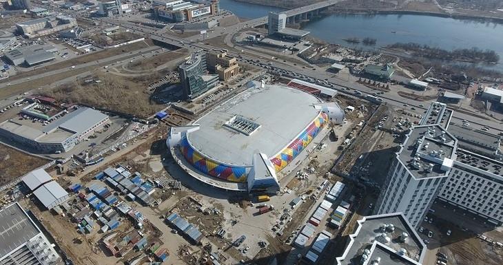 Krasnoyarsk 2019 organisers are confident the venues will be ready in time for the Games ©Krasnoyarsk 2019