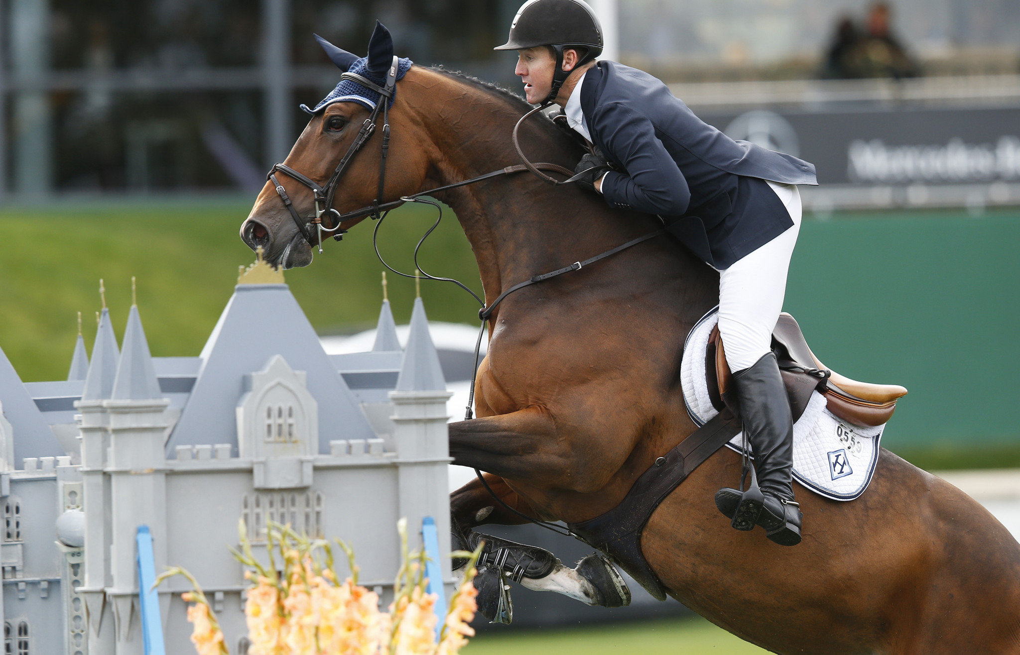 McLain Ward will be going for gold in the jumping final in Paris ©Getty Images