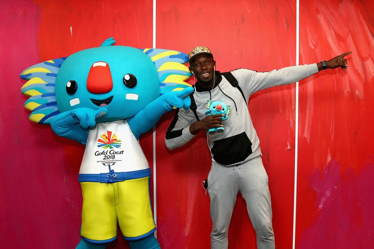 Bolt arrives in Gold Coast to support Jamaican athletes at Commonwealth Games
