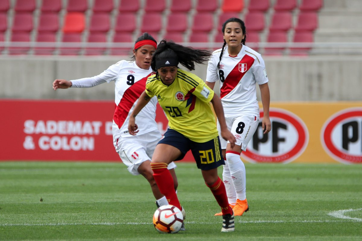 Colombia booked their place in the next round of the Copa América Femenina ©Twitter