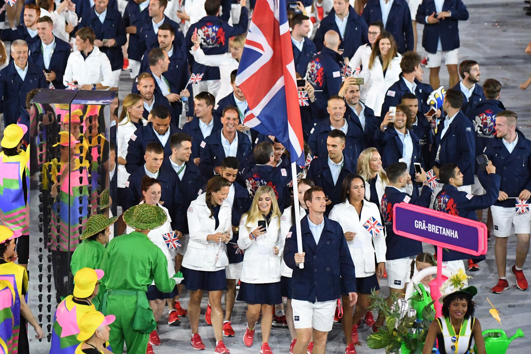 The British team finished second on the medals table behind United States at Rio 2016 ©Getty Images