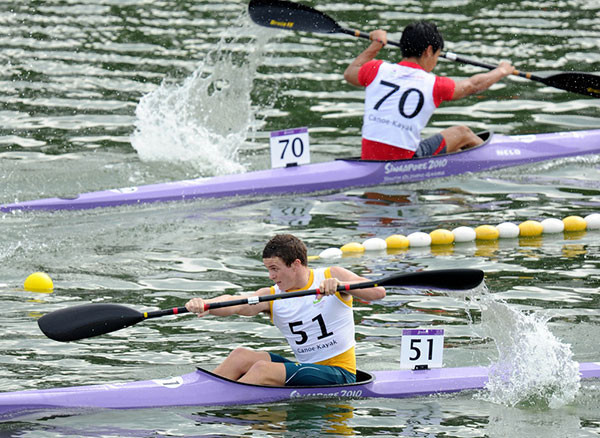 Record numbers due at Youth Olympic Games canoe qualifying on Barcelona 1992 course
