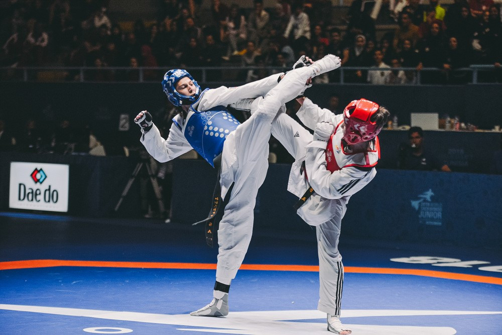 Fourth gold medal for Iran at World Taekwondo Junior Championships in Hammamet