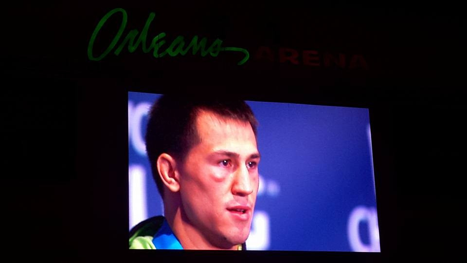 Wrestling World Championship organisers play wrong anthem as Russian stands atop 75kg podium