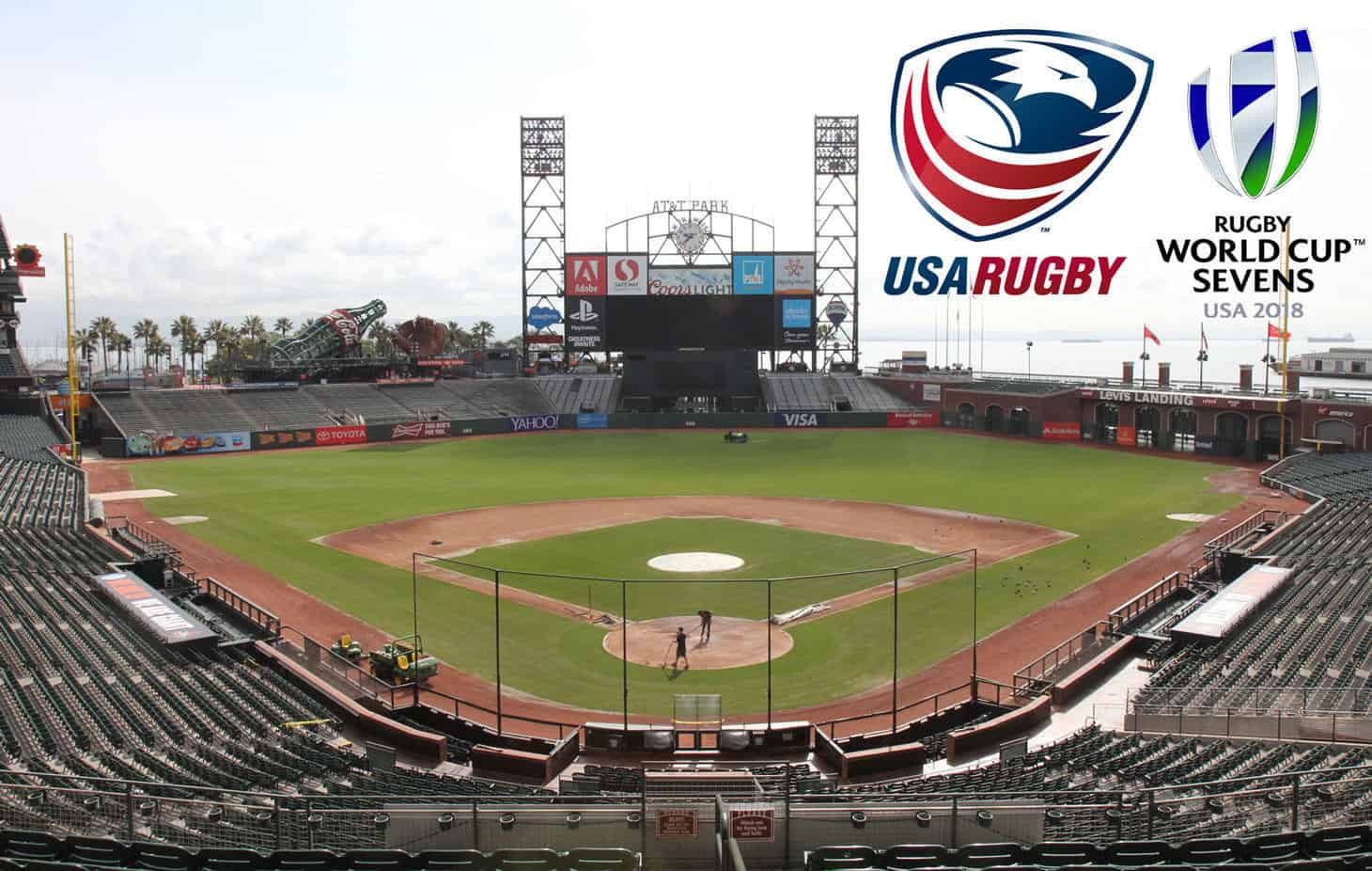 The Rugby World Cup Sevens 2018 in San Francisco is due to to take place at a converted baseball stadium ©USA Rugby