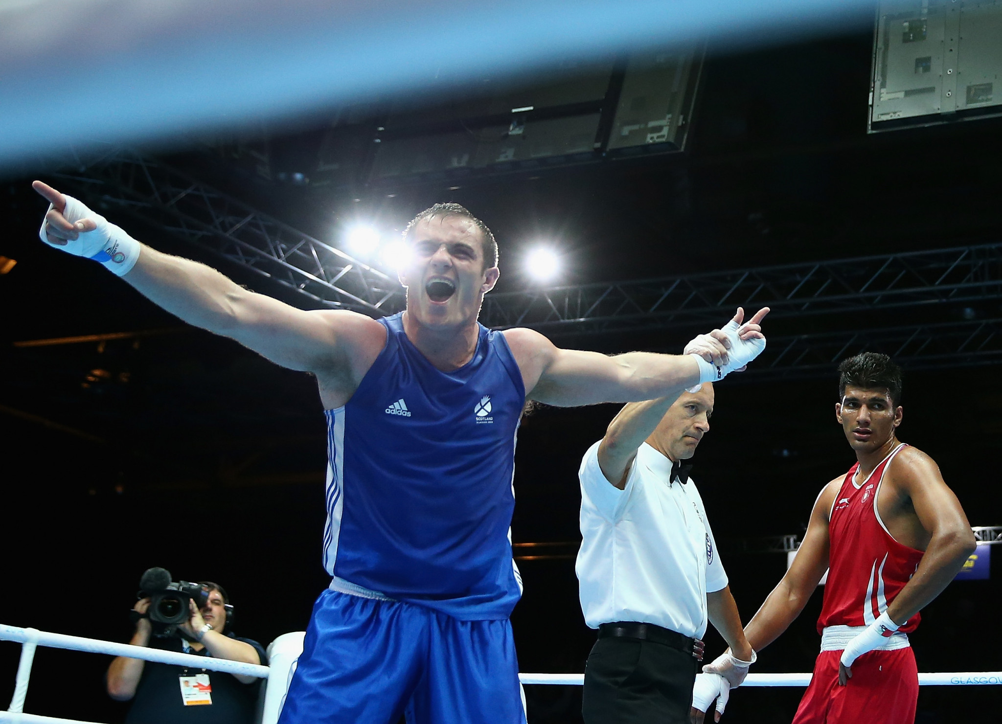 Commonwealth Games boxing bronze medallist Stephen Lavelle has been charged with assault following an altercation ©Getty Images