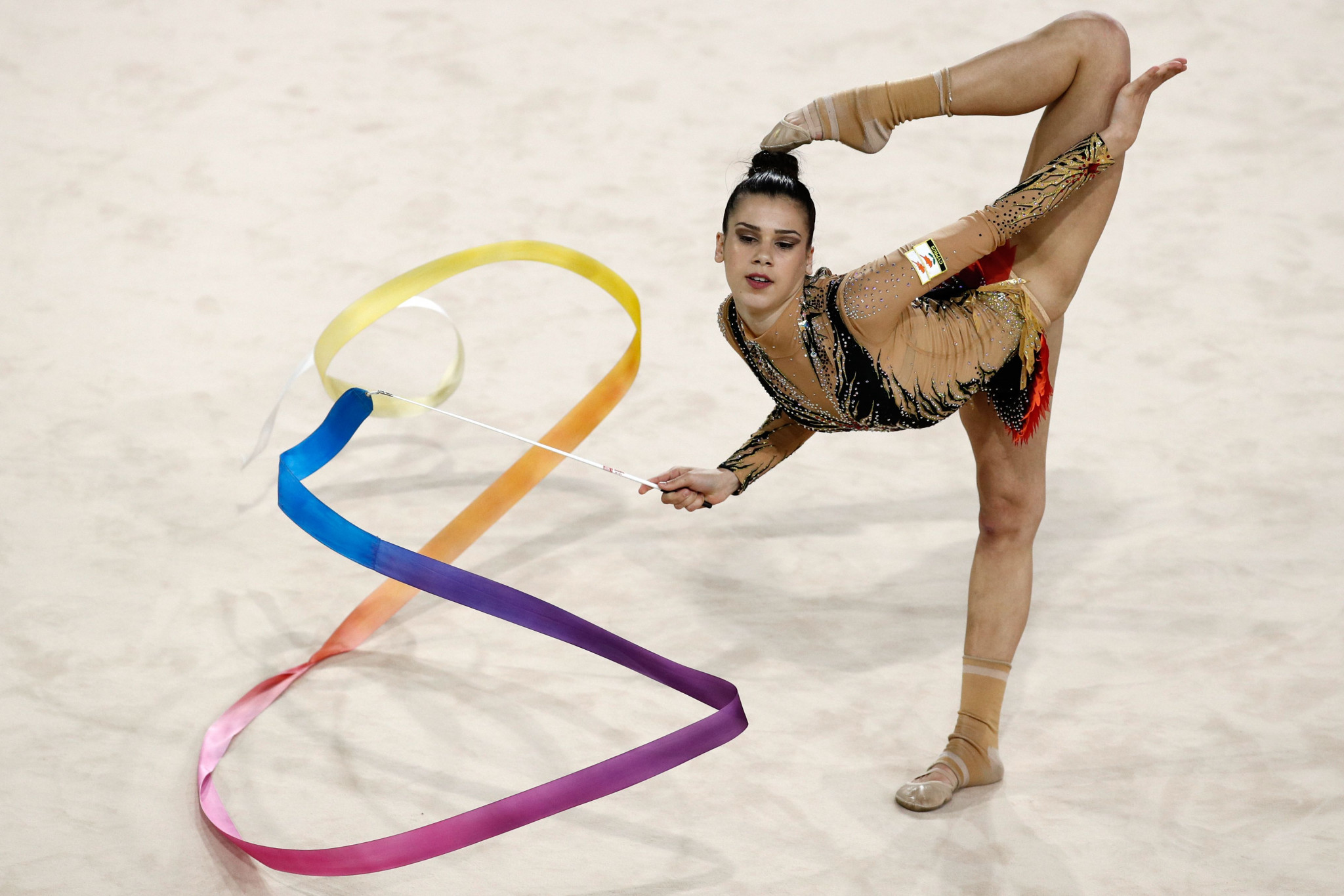 Everipidou takes Cyprus' Gold Coast 2018 gold medal tally to six with victory in rhythmic gymnastics