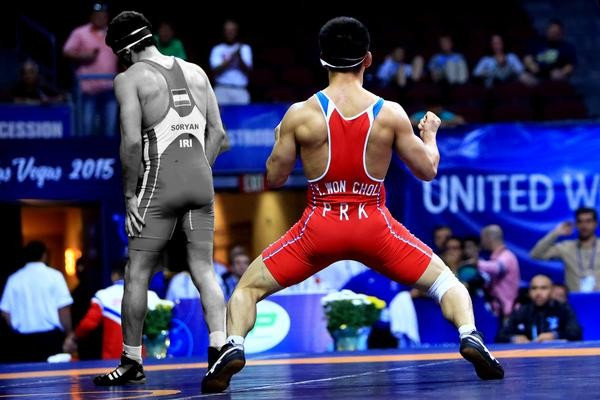 2015 Wrestling World Championships: Day two of competition