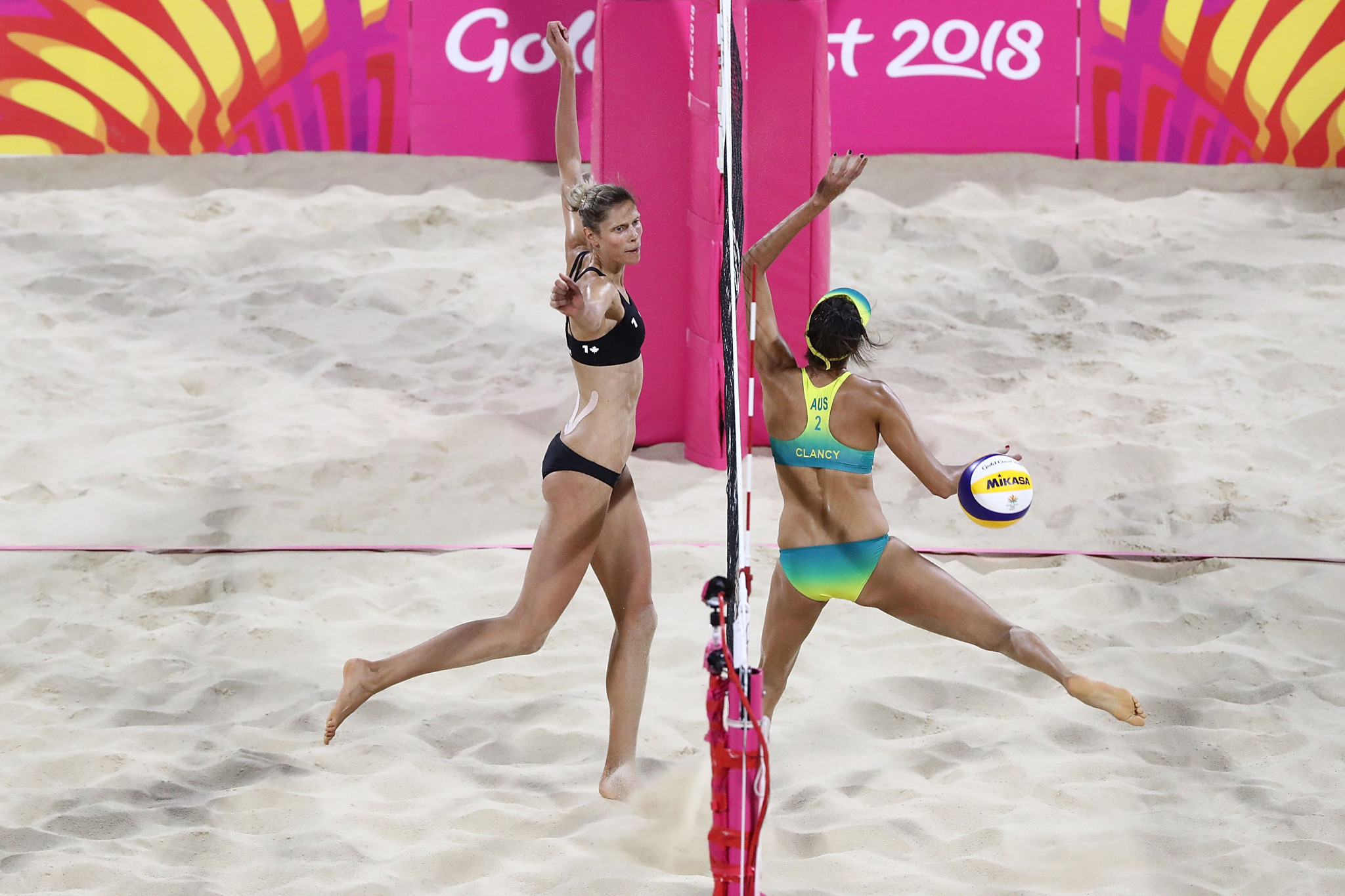 Australia And Canada Crowned First Commonwealth Games Beach Volleyball Champions