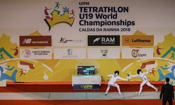 Alice Rinaudo broke a world record in the fencing competition in Caldas da Rainha ©UIPM