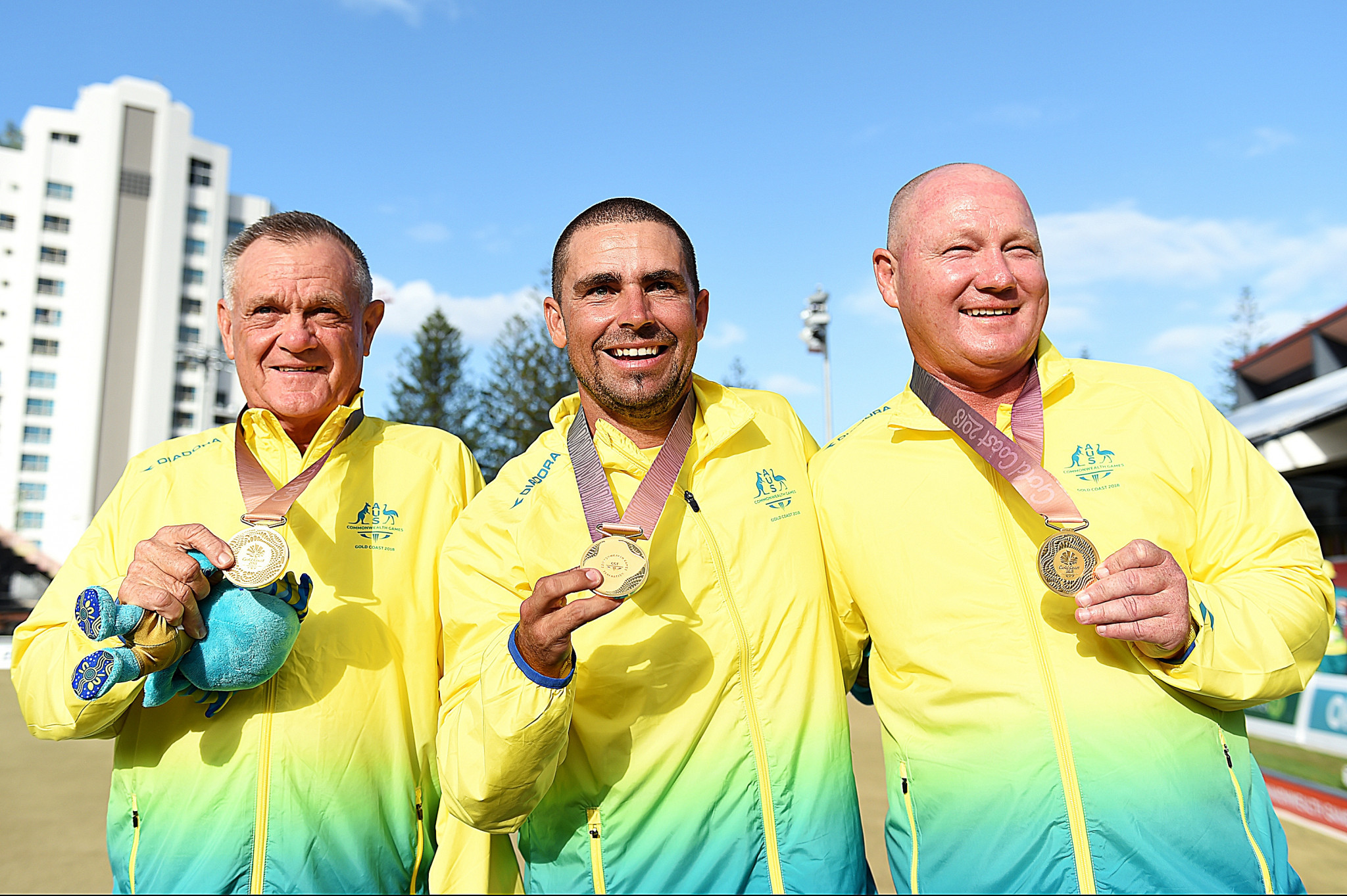 Australian inspired by 68-year-old to snatch Commonwealth Games lawn bowls gold