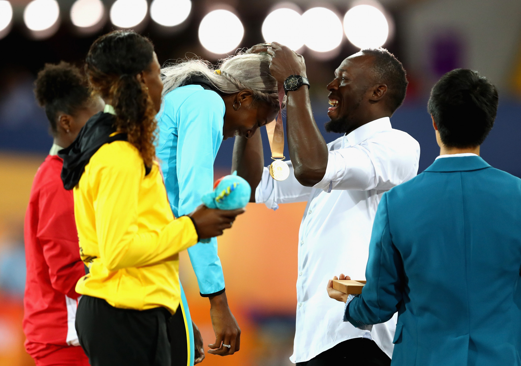 Bolt in attendance as British Virgin Islands win first Commonwealth Games title at Gold Coast 2018