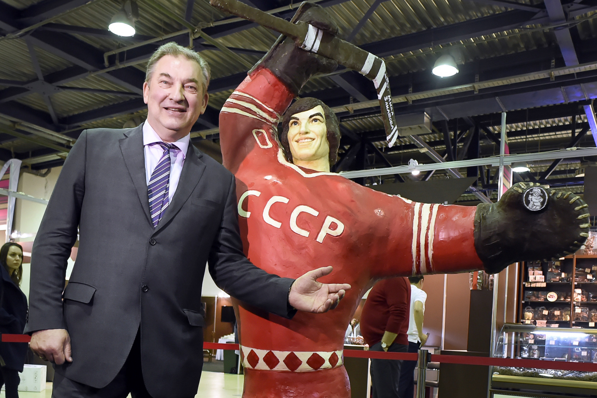 Tretiak vows to increase participation as wins unanimous victory in Russian Ice Hockey Federation election
