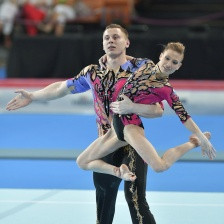 Russia will seek to head the medal table for a fourth successive time at the FIG Acrobatic Gymnastics World Championships that start in Antwerp tomorrow ©FIG