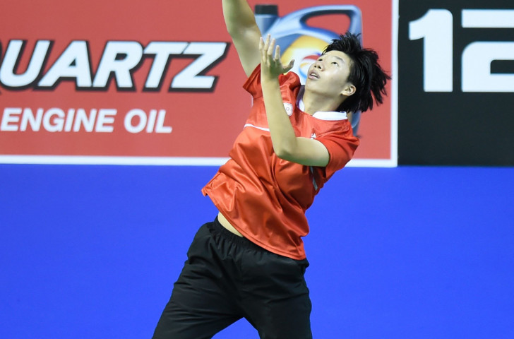 Chinese Taipei's women's singles top seed Chen Su Yu made an early exit from the BWF Lingshui China Masters ©Getty Images