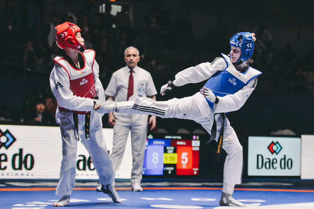 Iran and Serbia share gold medals on day four of World Taekwondo Junior Championships
