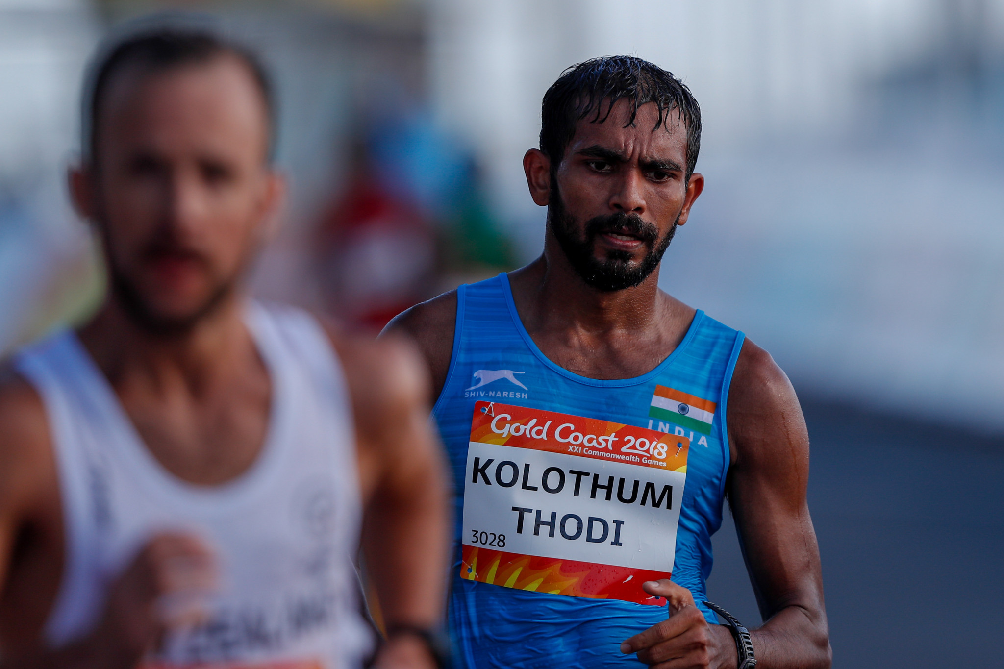 Race walker Irfan Kolothum Thodi finished 13th in the 20km event at Gold Coast 2018 ©Getty Images