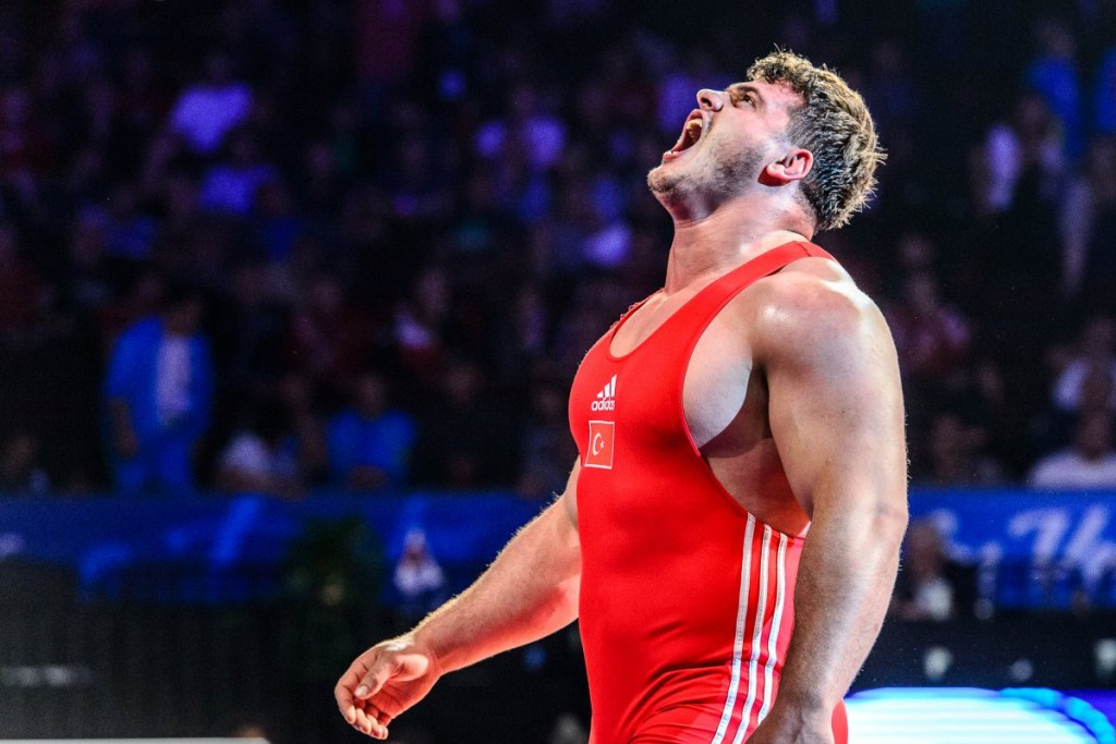Turkish delight as country claims double gold on second day of Wrestling World Championships
