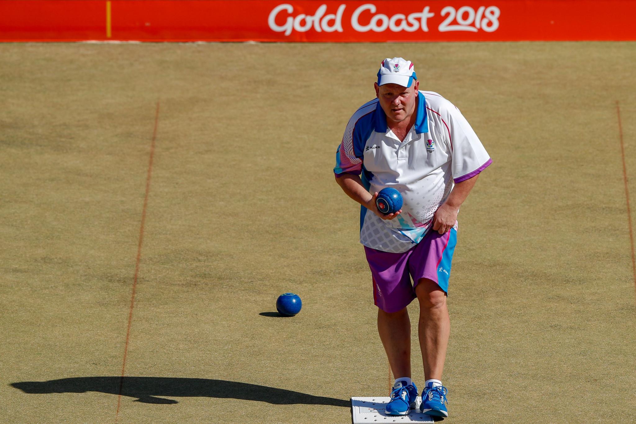 Marshall takes fifth Commonwealth Games lawn bowls gold as Scotland stun Australia