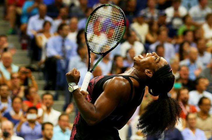 Serena Williams edges sister Venus at US Open to maintain calendar Grand Slam quest