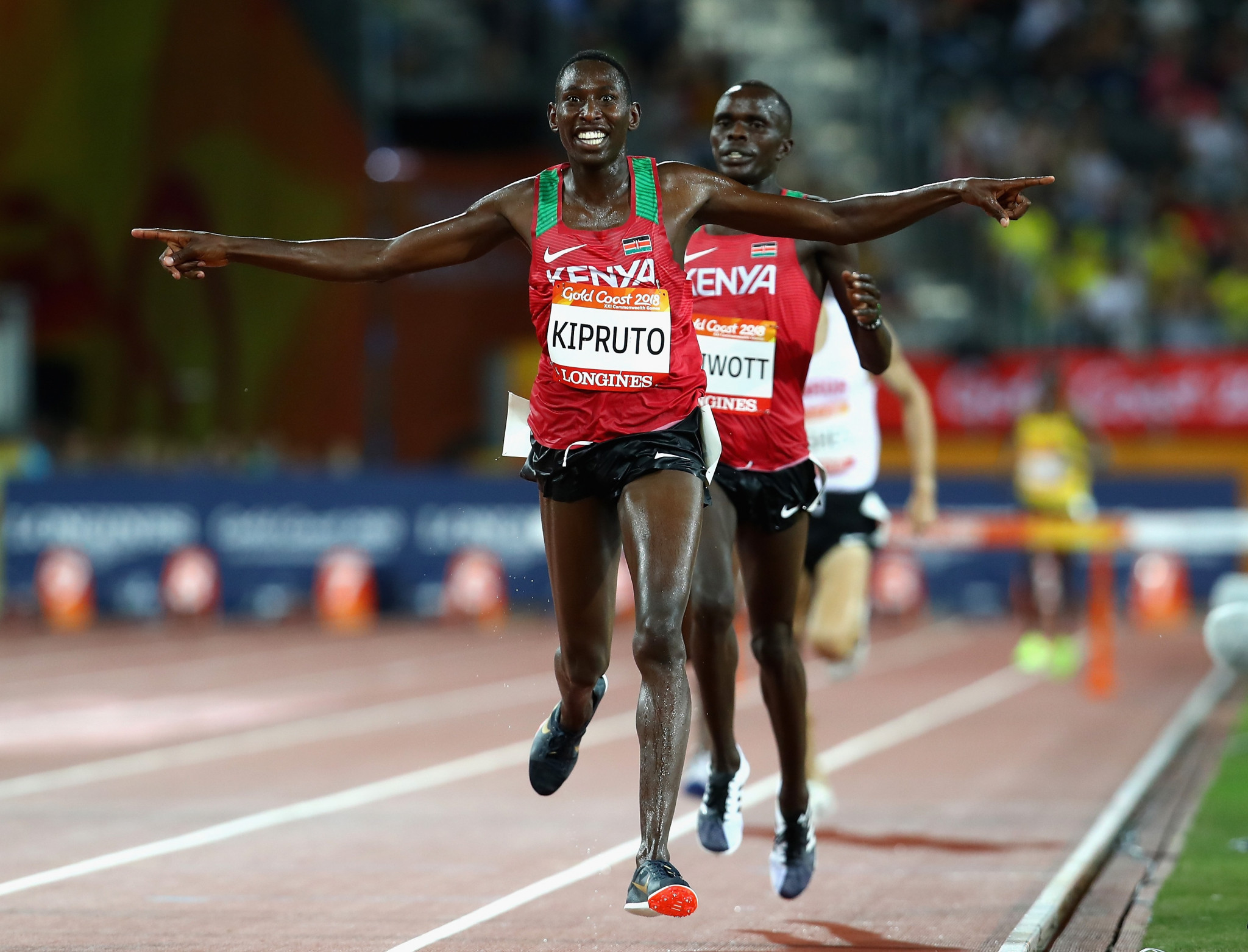 Kenya's Olympic 3,000m steeplechase champion Kipruto out of Monaco meeting after positive COVID-19 test
