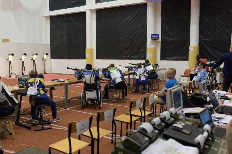 ukraine continue domination at world shooting para grand prix. Black Bedroom Furniture Sets. Home Design Ideas