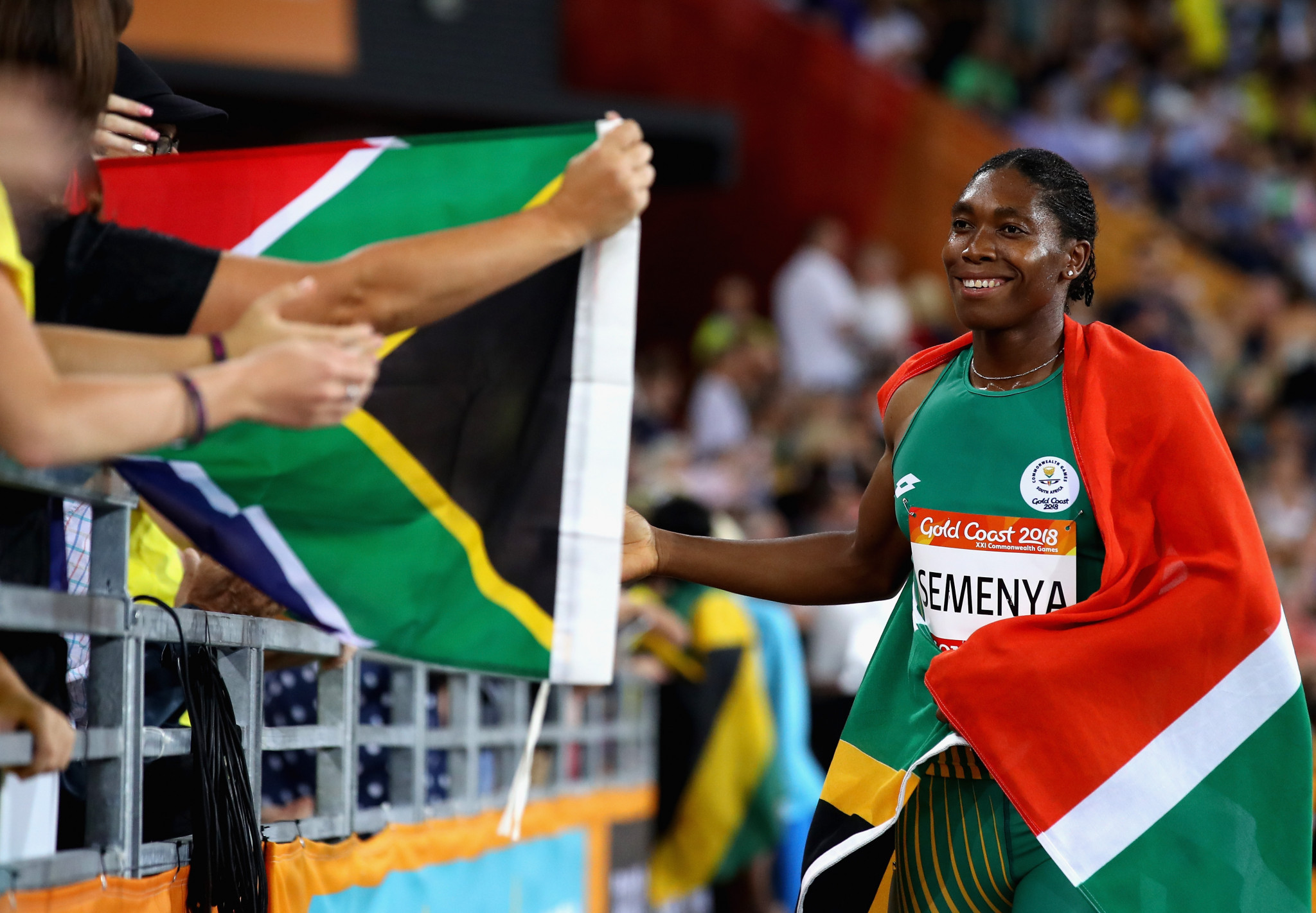 Semenya and Cheptegei complete track doubles at Gold Coast 2018