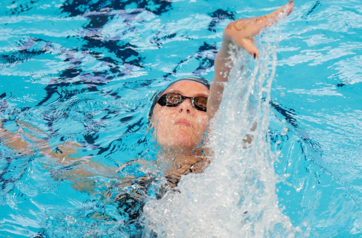 Gichard at the double on thrilling night of swimming finals at Samoa 2015