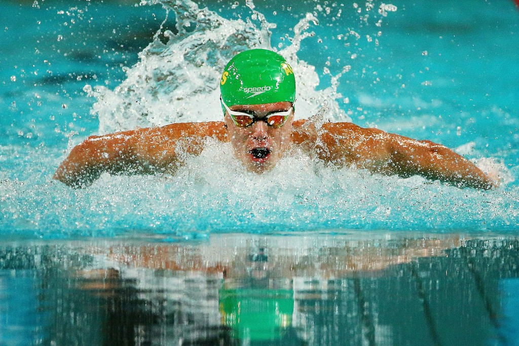 Brayden McCarthy was part of the Australian 4x100m freestyle relay team who struck gold with a dominant performance