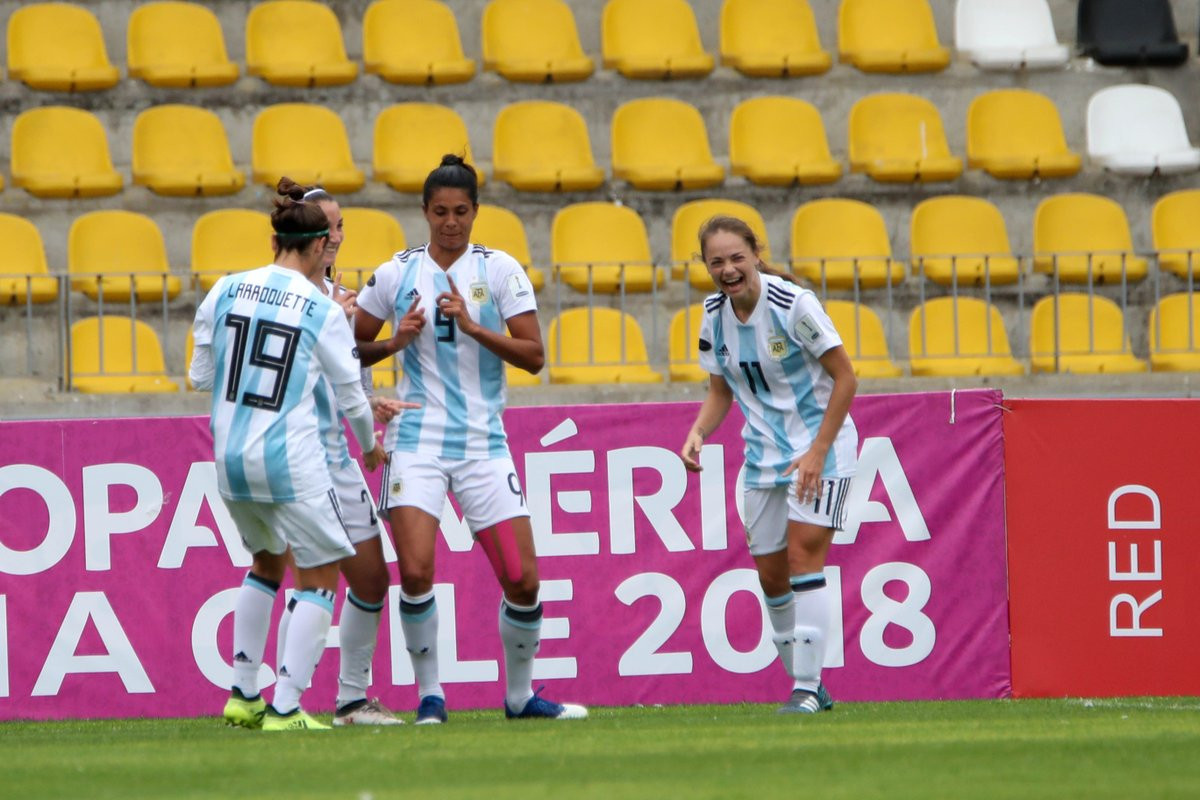 Venezuela pay the penalty as Argentina reach final stage of Copa América Femenina