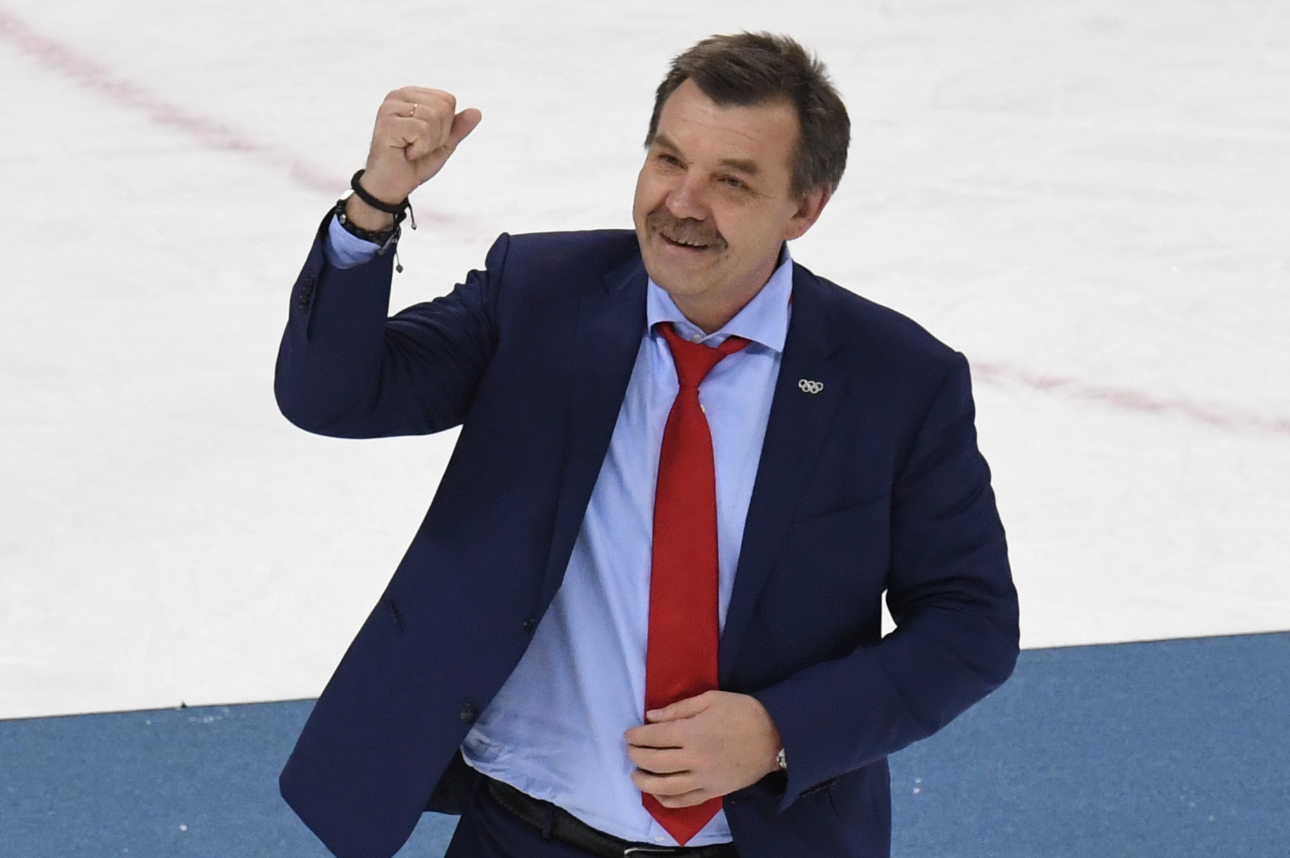 Znarok steps down as Russia's head coach for 2018 IIHF World Championship