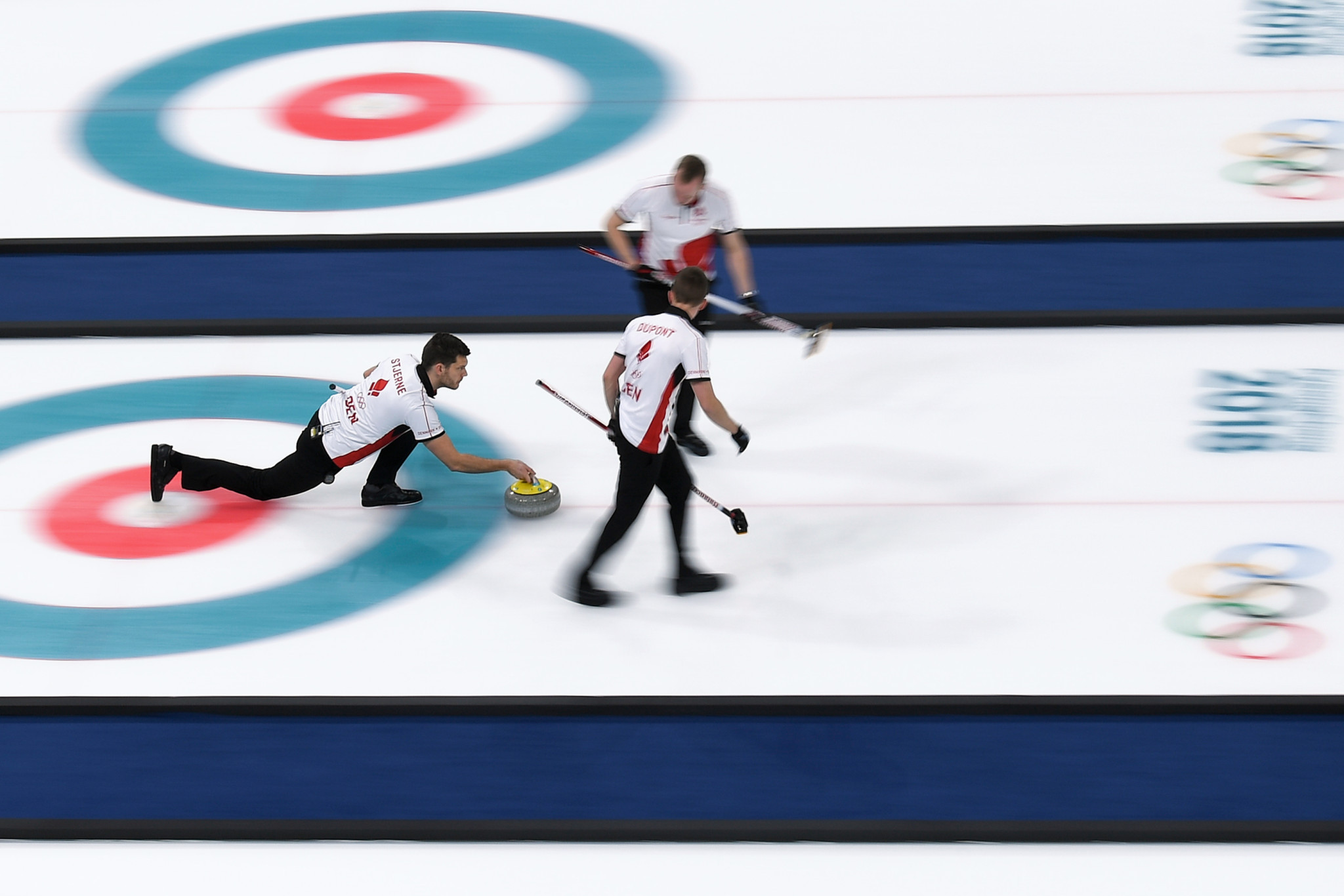Hosts Denmark maintained their 100 per cent start to the men's tournament at the European C-Division Curling Championships ©Getty Images