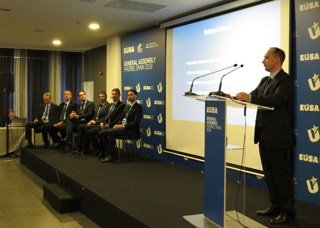 Future editions of the European University Games were awarded in Madrid ©EUSA