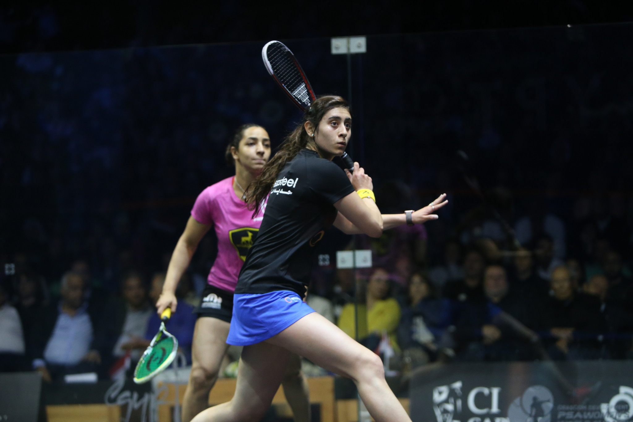 Egyptians on course to meet in final of first women's El Gouna International