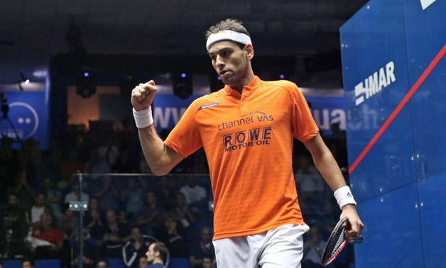 Egypt's world number one could meet his younger brother  Marwan in the semi-finals of the El Gouna International ©PSA