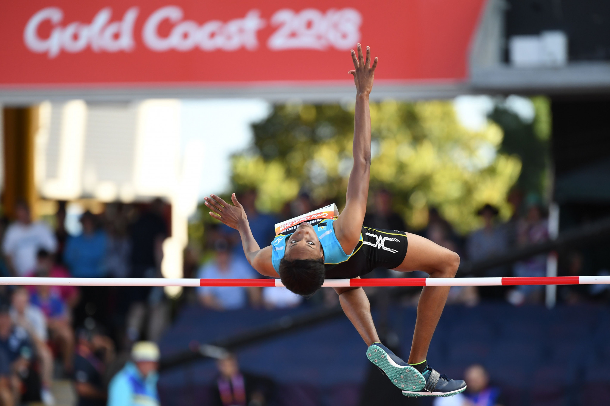 St Lucia 56-year wait for Commonwealth Games gold medal ended with Spencer victory in high jump