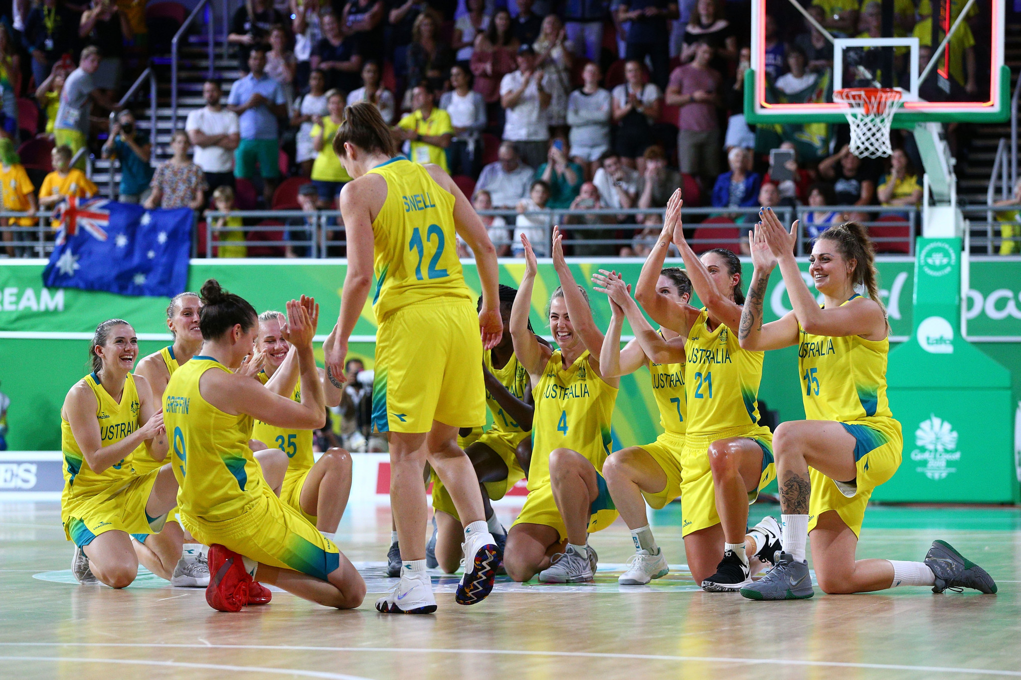 Australia cruise to gold by easing past England in women's basketball final