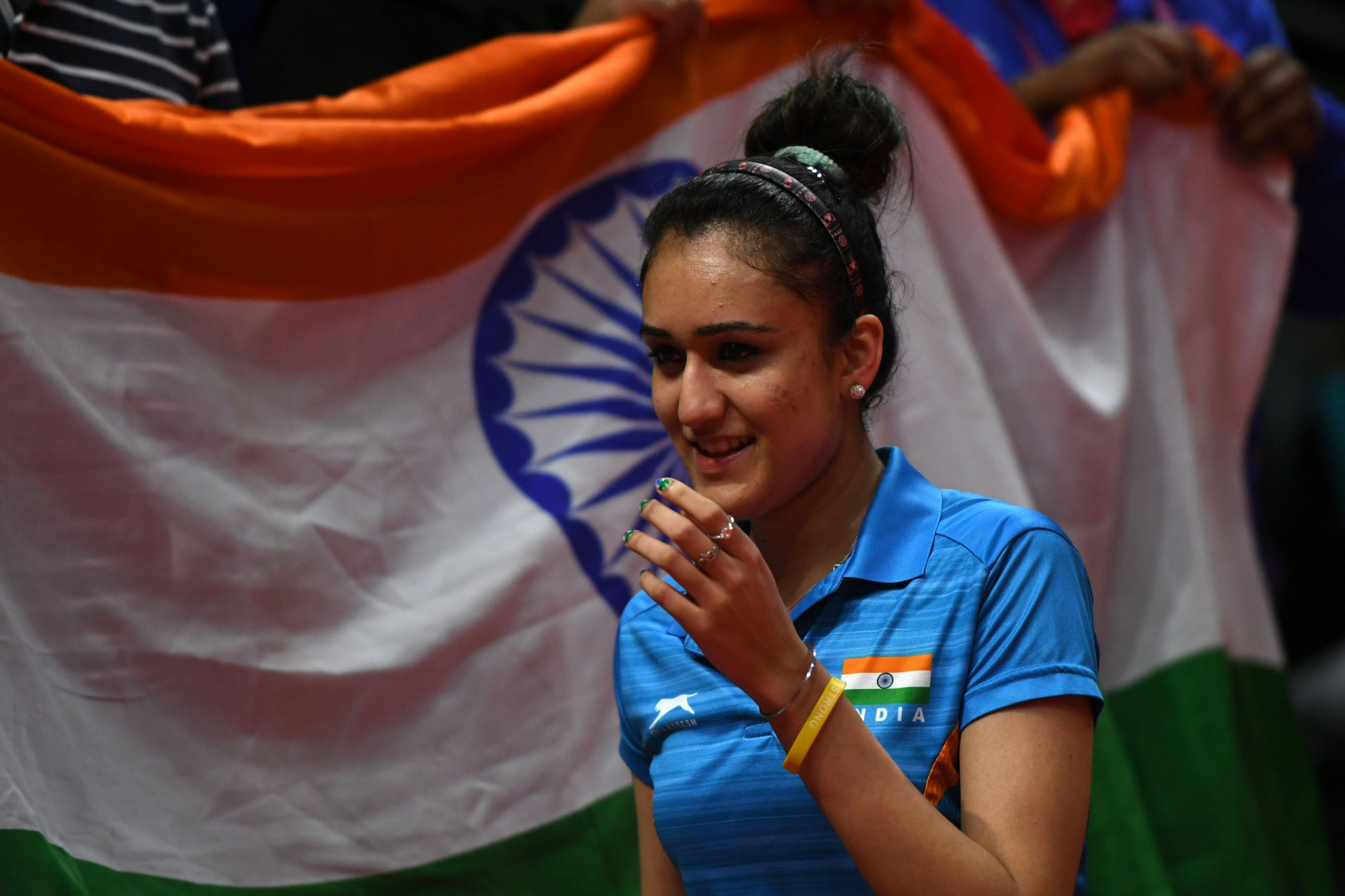 Manika Batra became the first Indian to win the women's singles gold medal at the Commonwealth Games ©Getty Images