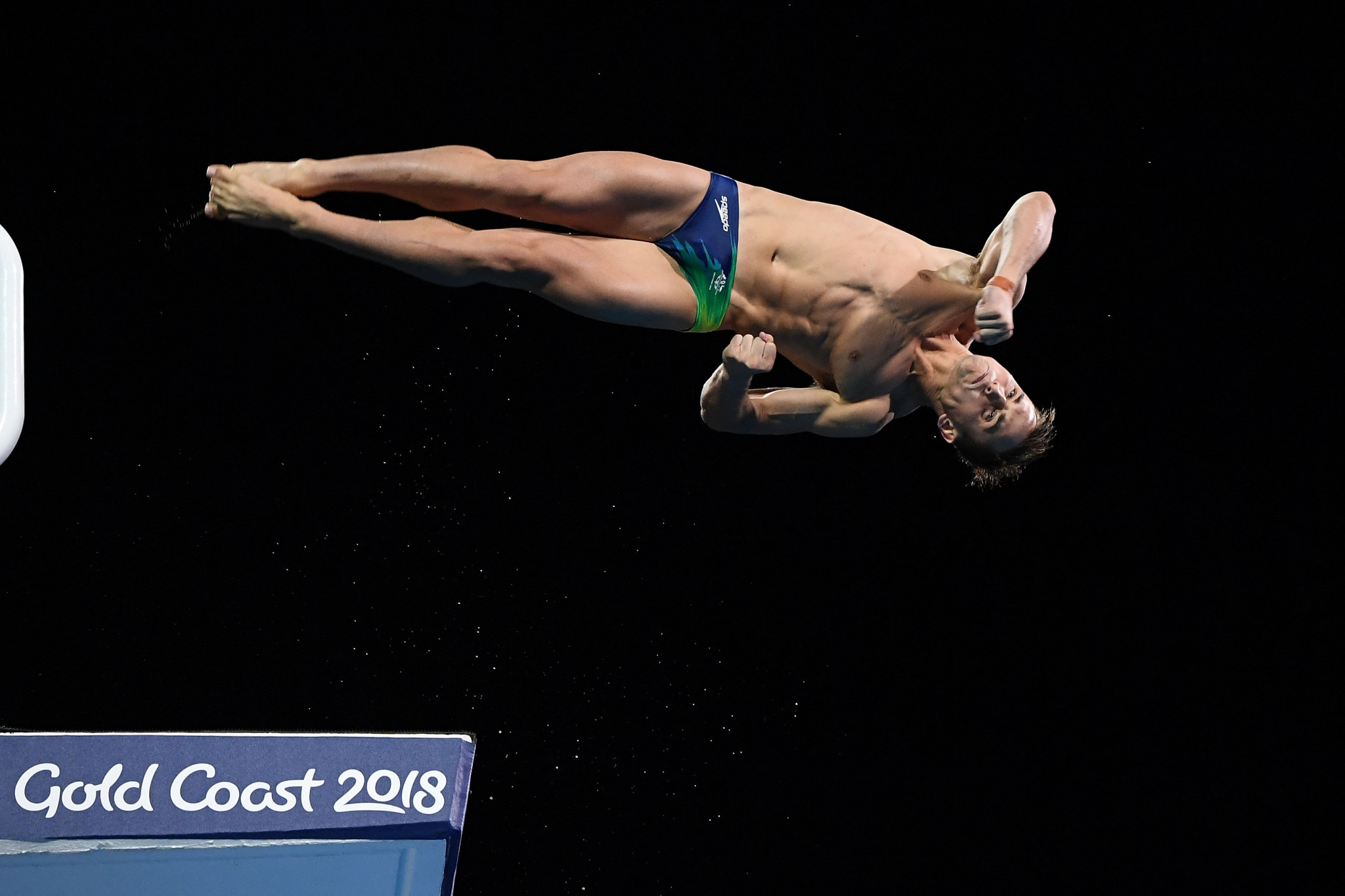 Gold Coast diver wins Commonwealth Games gold medal