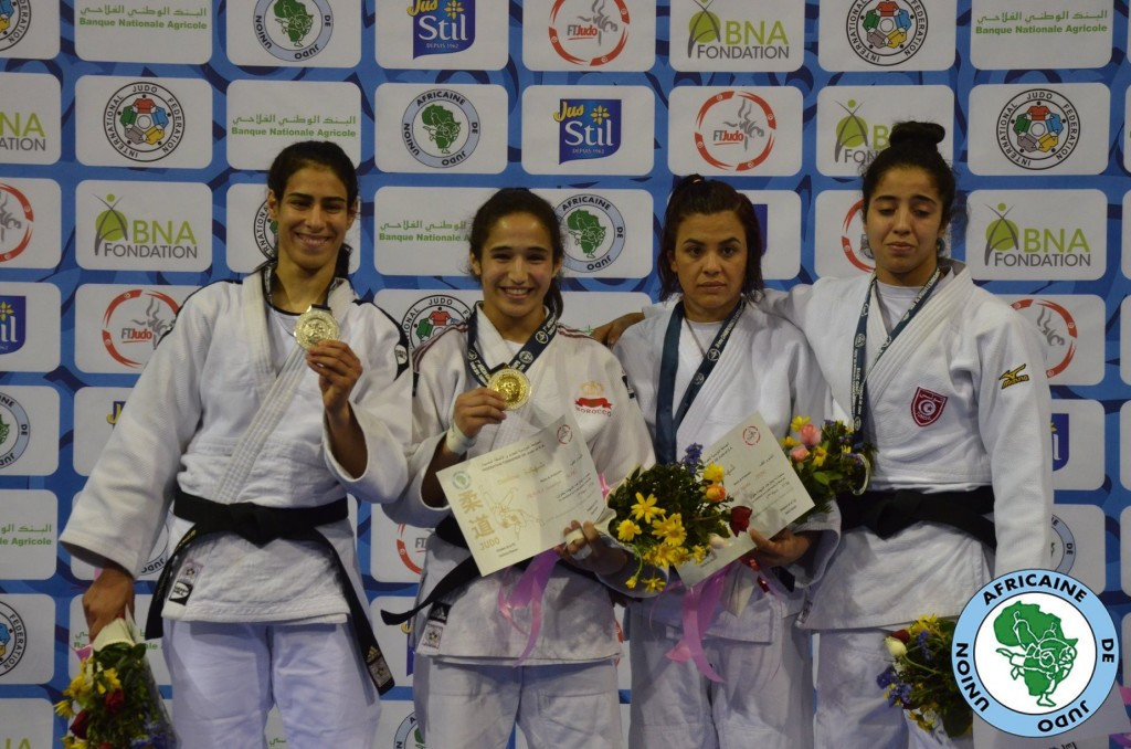 Iraoui wins first senior gold for Morocco at African Judo Championships