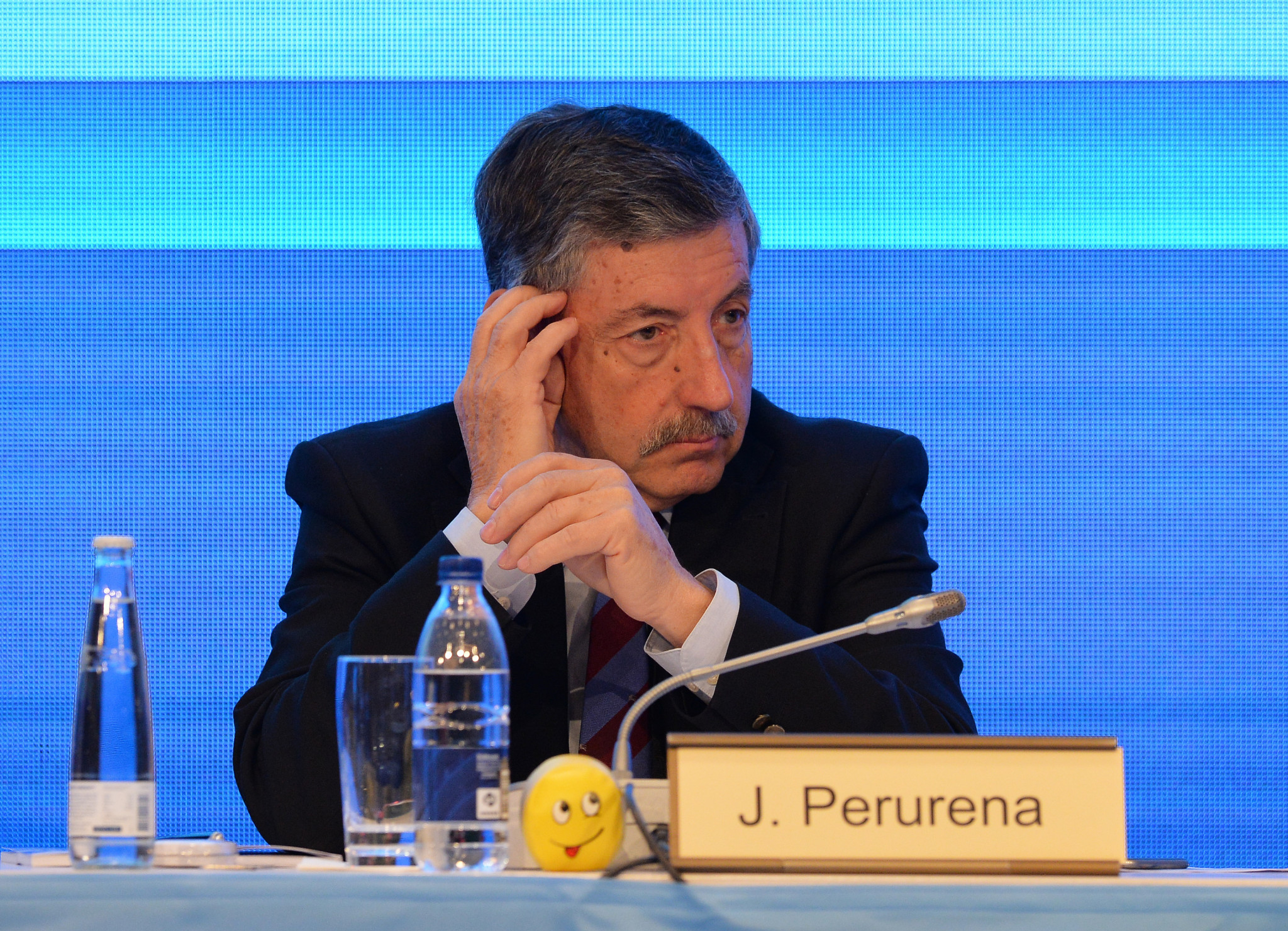 José Perurena looks set to continue in his role as IWGA President ©Getty Images