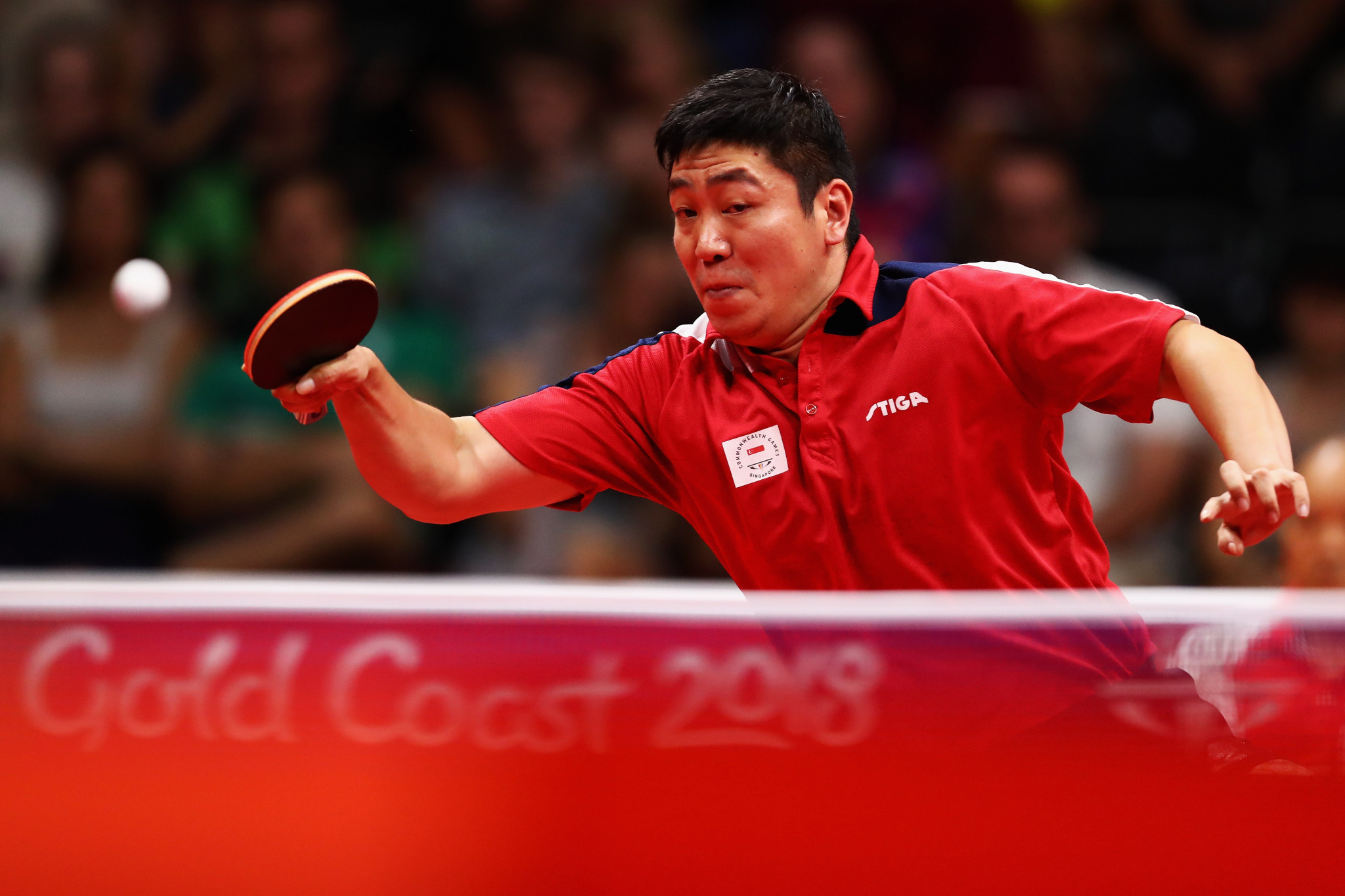 Gao secures elusive singles gold and mixed doubles title on final day of table tennis at Gold Coast 2018