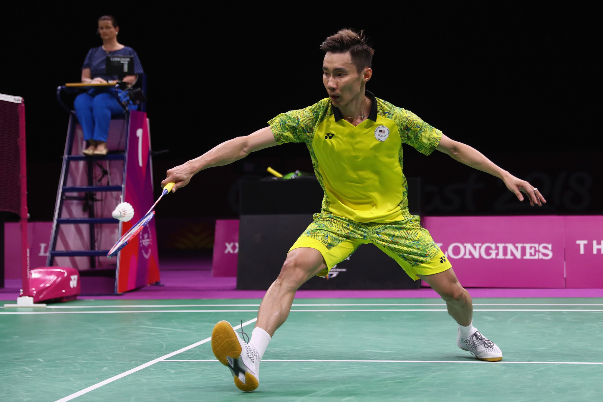 Lee Chong Wei marked his swansong with gold in the men's singles event ©Getty Images