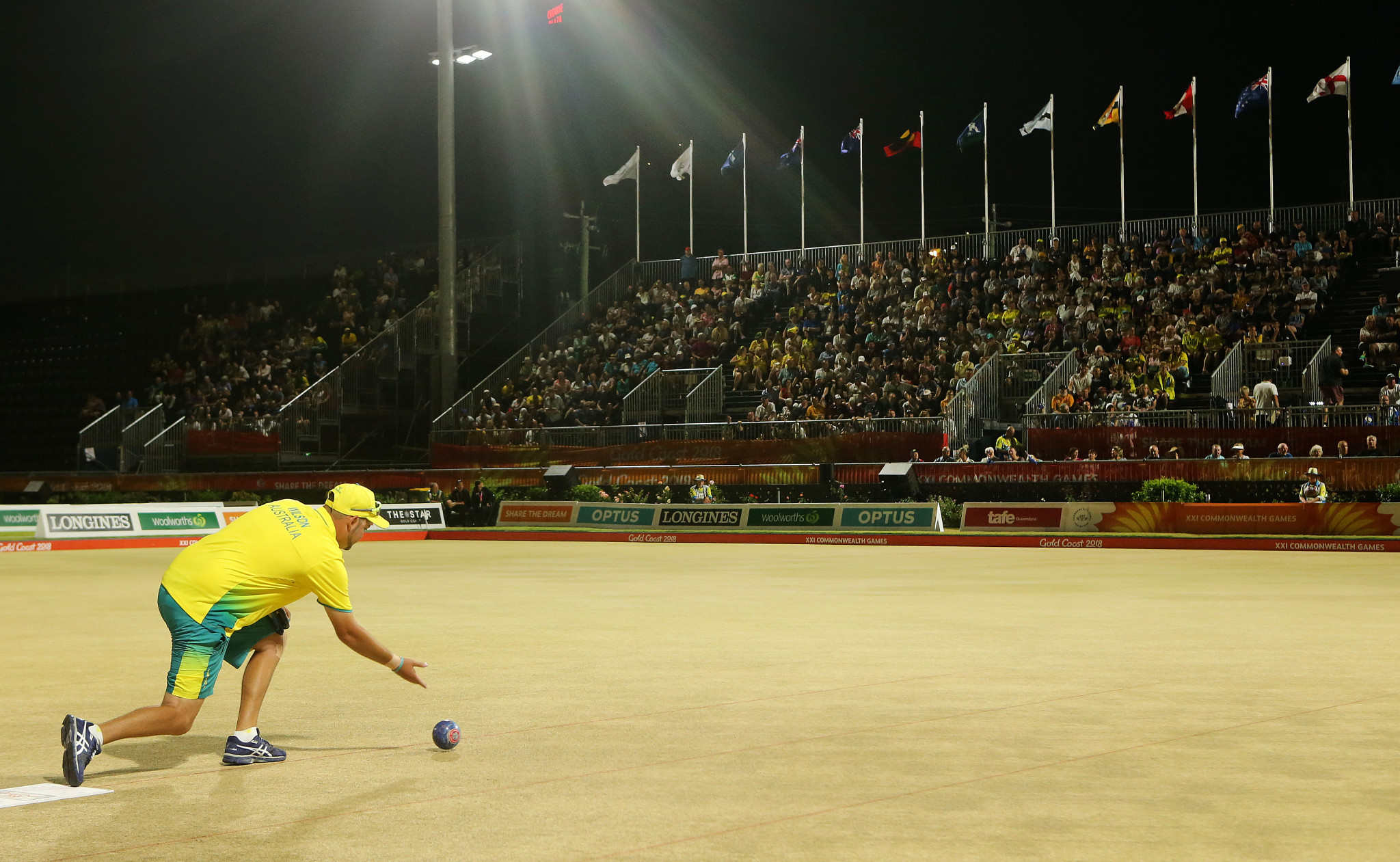 Lawn bowls was one of the charming successes as Gold Coast 2018 ©Getty Images