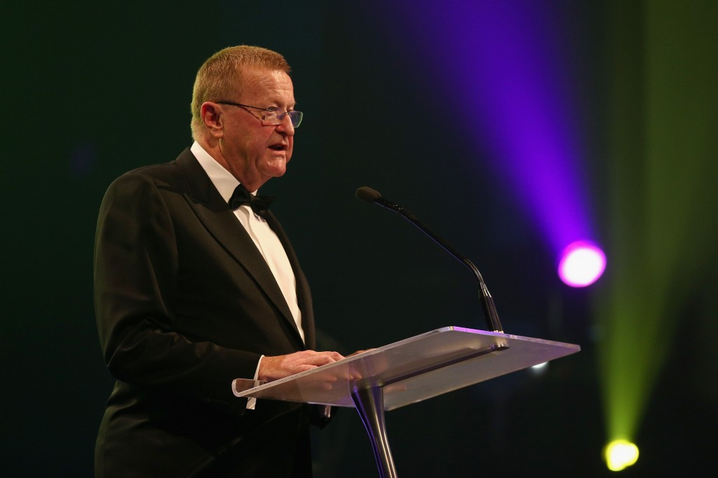 John Coates praised Russell Withers' contribution to the AOC Executive