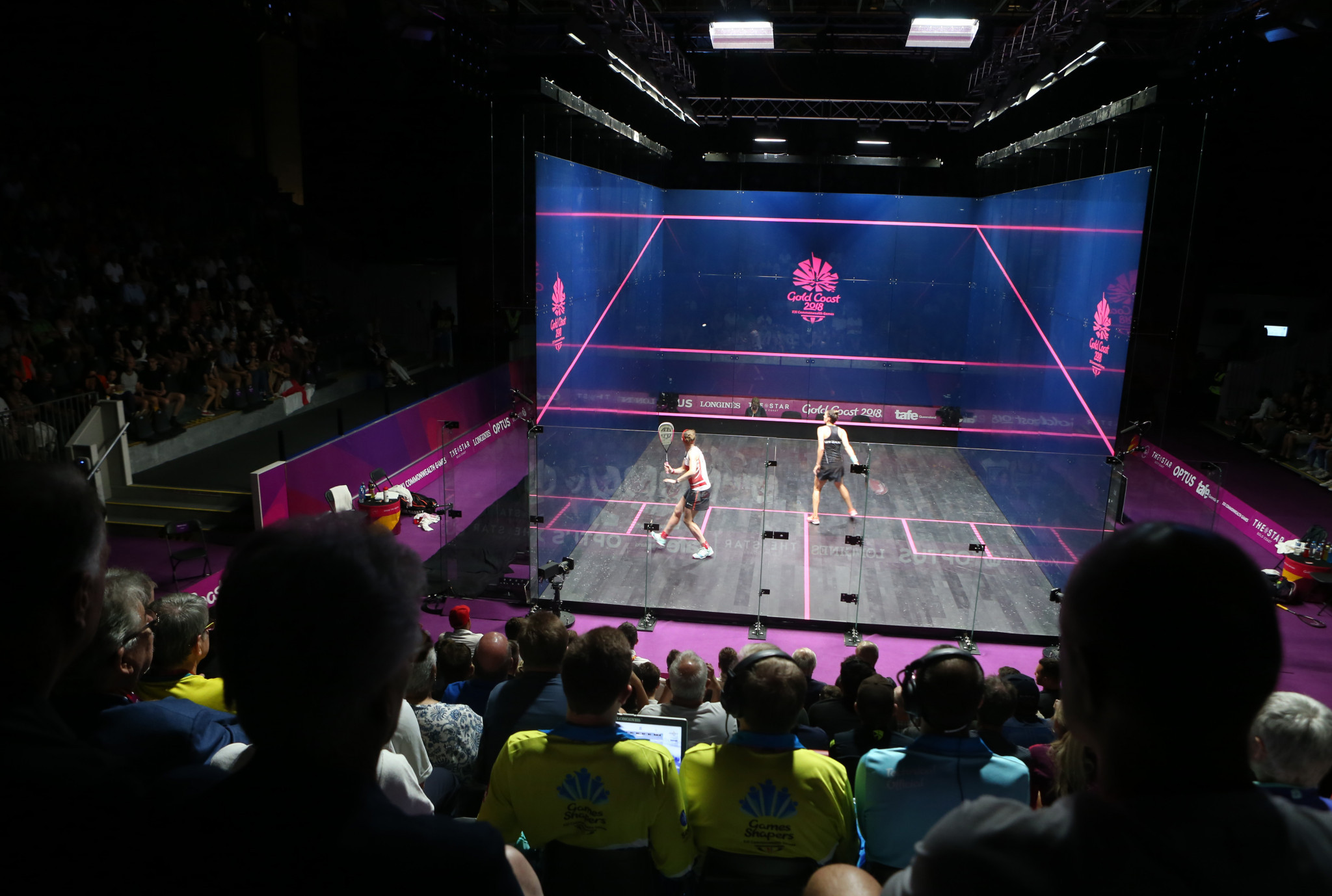 Squash proved a hit at the Commonwealth Games in Gold Coast