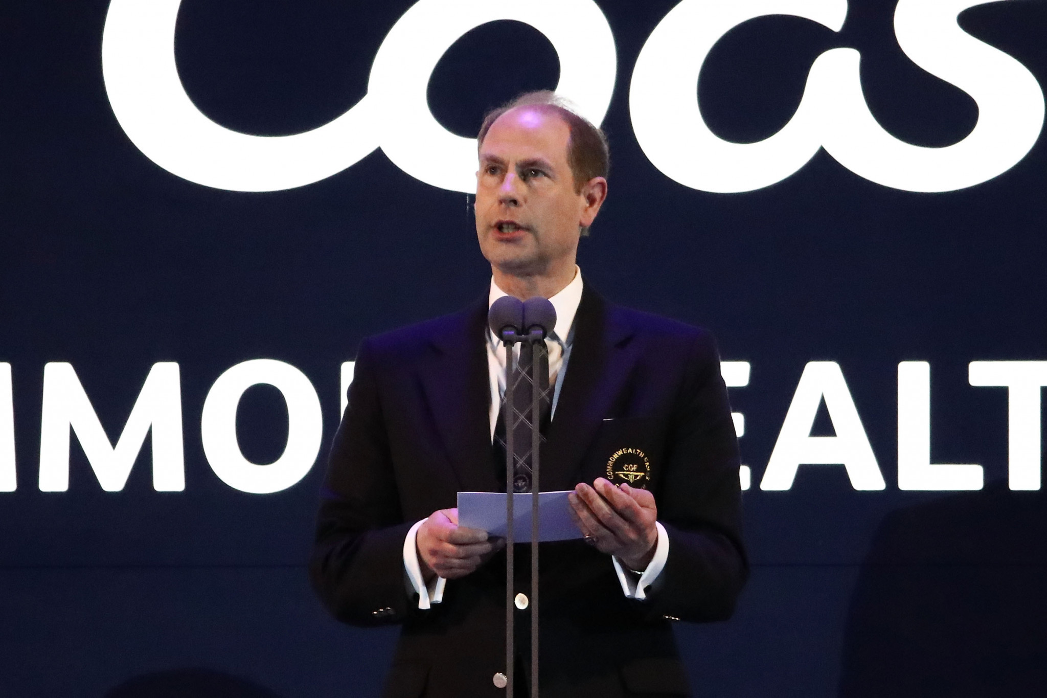 Prince Edward officially declared the Gold Coast 2018 Commonwealth Games closed tonight ©Getty Images
