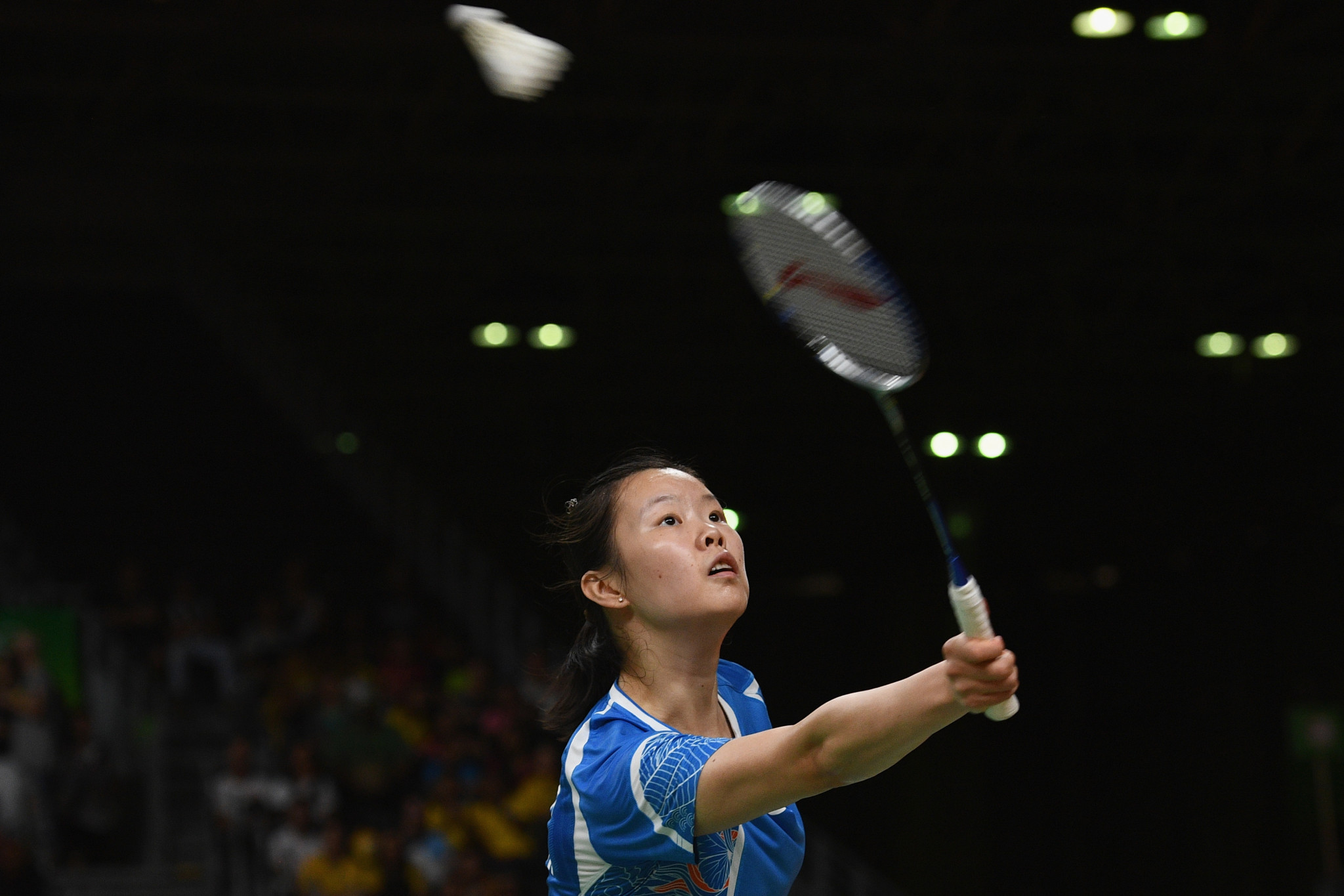China's Li Xuerui won the women's singles title ©Getty Images