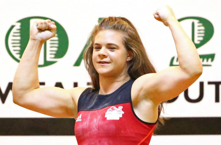 England's Tiler produces outstanding display to bag Samoa 2015 weightlifting gold