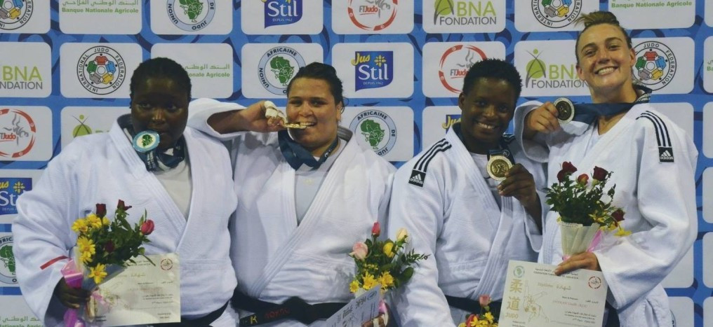 Two gold medals for hosts on day three of Africa Judo Championships in Tunis